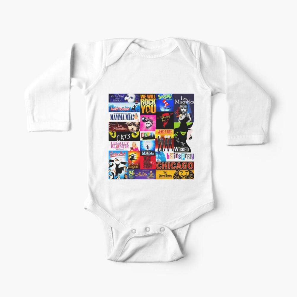Musicals Baby One-Piece