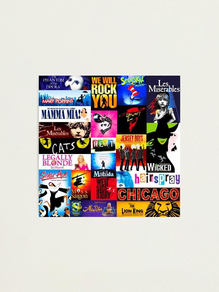 Alternate view of Musicals Photographic Print