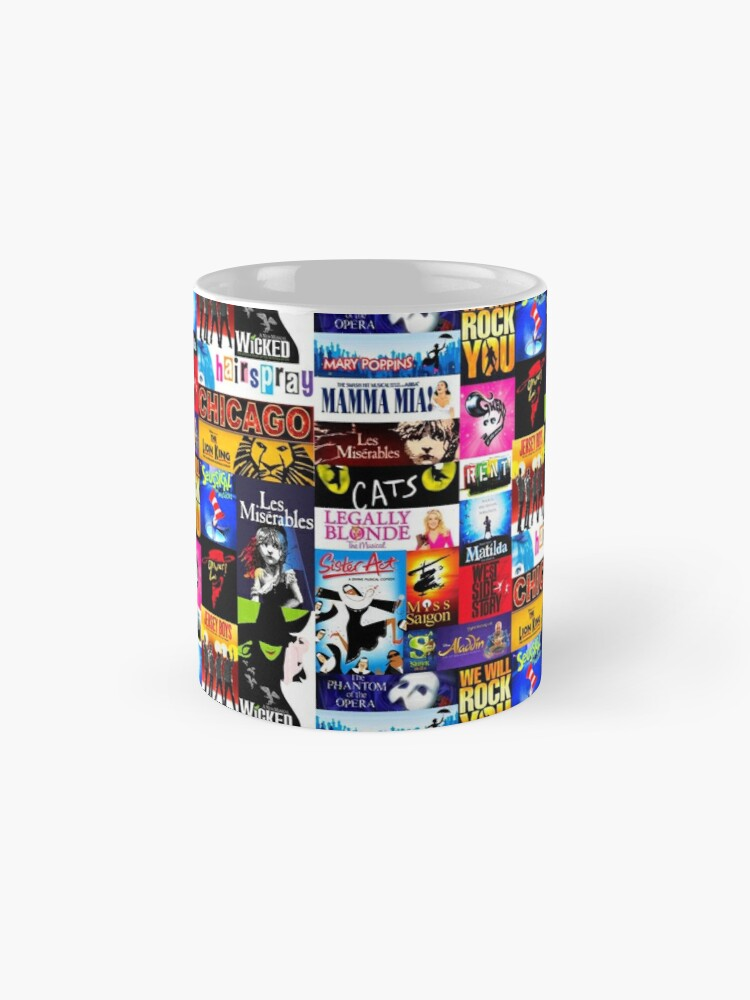Alternate view of Musicals Mug