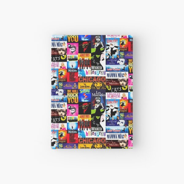 Musicals Hardcover Journal