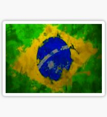 Brazil splash  Sticker