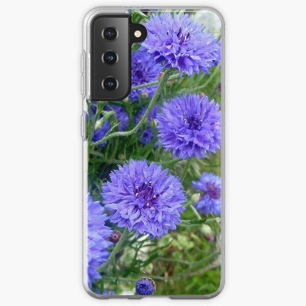 Blue cornflower Samsung Galaxy Soft Case