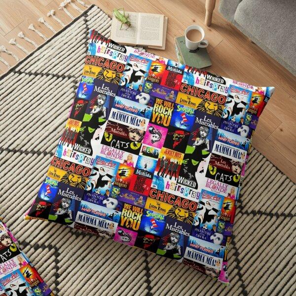 Musicals Floor Pillow