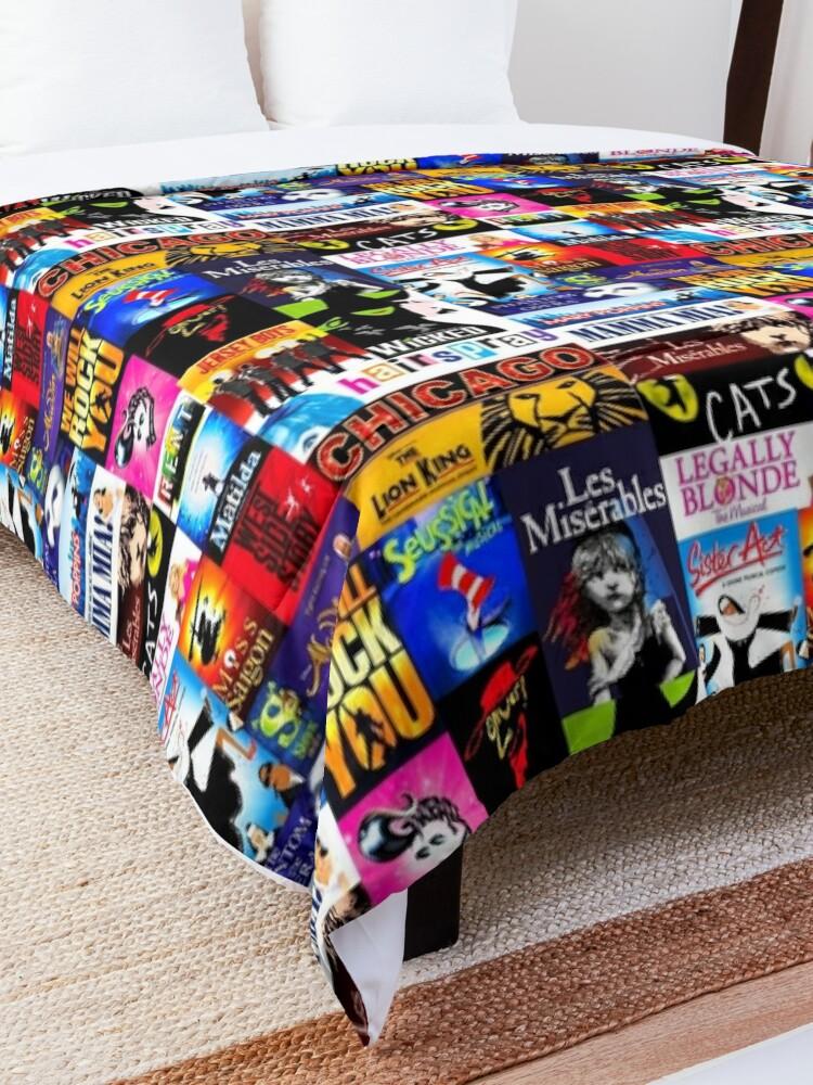 Alternate view of Musicals Comforter