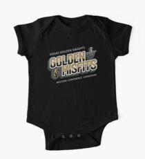 Golden Misfits VGK Vegas Golden Knights Hockey of Las Vegas, Nevada One Piece - Short Sleeve