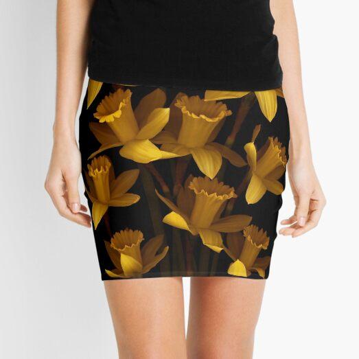 Dark Daffodils Mini Skirt