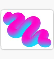 Squiggle Sticker