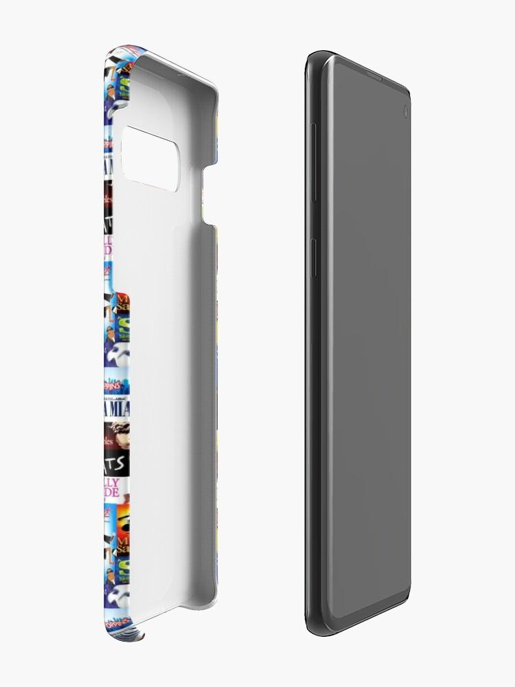 Alternate view of Musicals Case & Skin for Samsung Galaxy