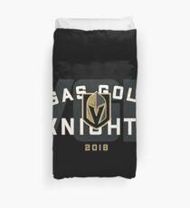 Vegas Golden Knights VGK Badge Duvet Cover