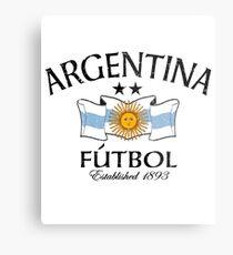 Argentina Fútbol Established 1893 Metal Print