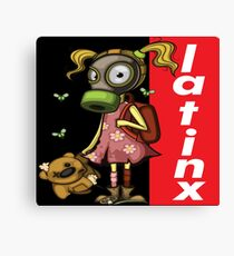 LatinX Pollution Rise Against Pollution Polluted World Canvas Print