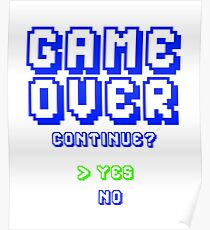 Gamer Over Poster