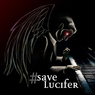 #SaveLucifer Lucifer at the piano by nerd-girl-art