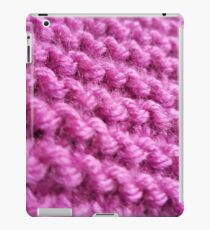 Pink Knitting iPad Case/Skin
