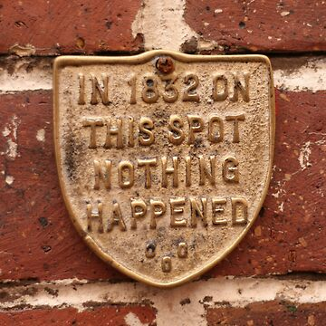 ...nothing ever happened.... by MacLeod