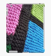 Patchwork Knitting iPad Case/Skin