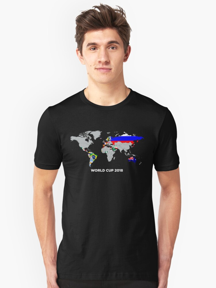 World Cup 2018 Unisex T-Shirt Front