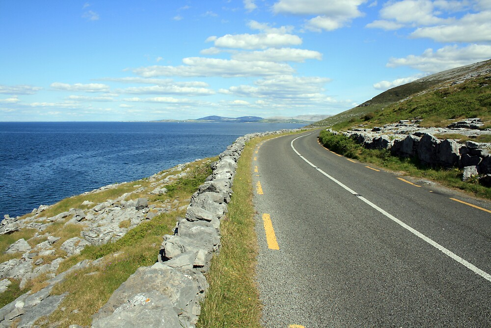 Scenic Clare road by John Quinn