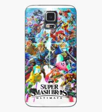 Super Smash Bros Ultimate - Poster Case/Skin for Samsung Galaxy