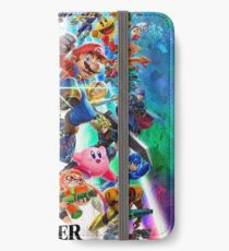 Super Smash Bros Ultimate - Poster iPhone Wallet/Case/Skin
