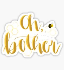 Oh, bother Sticker