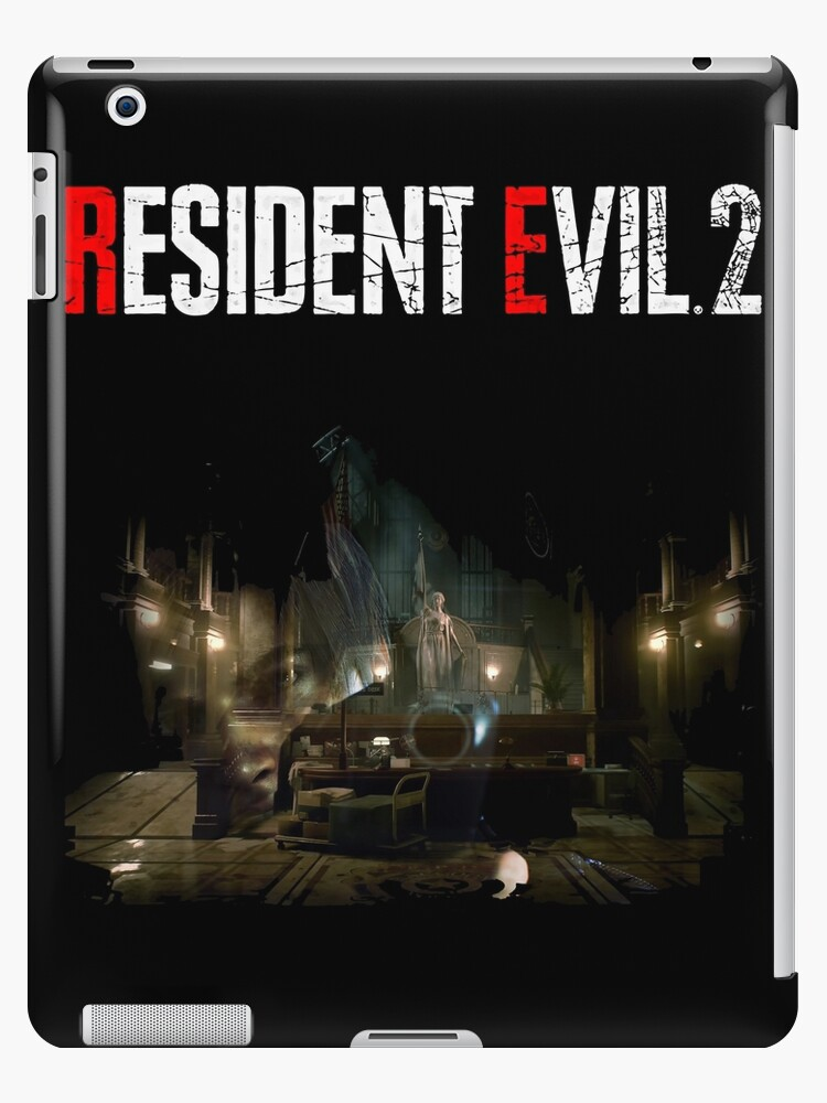 'RESIDENT EVIL 2 REMAKE - RPD LEON' iPad Case/Skin by Robcyko