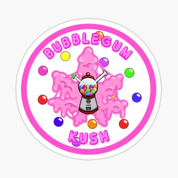 BUBBLEGUM KUSH Sticker