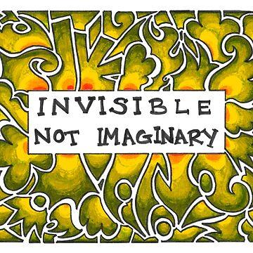 Invisible Not Imaginary (yellow) by Jezunya