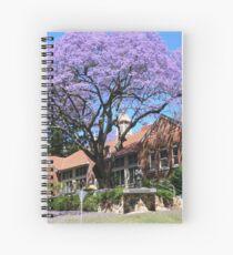 Jacaranda tree, Australia Spiral Notebook