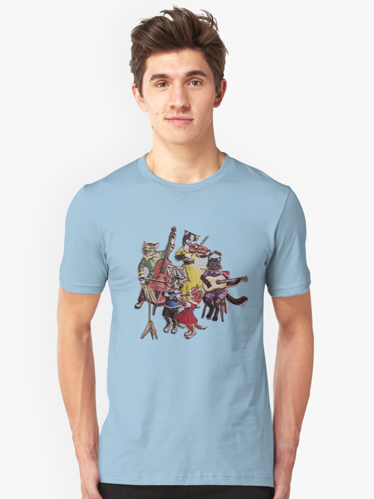 Musical Cats Unisex T-Shirt Front