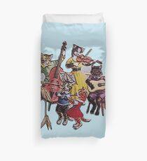 Musical Cats Duvet Cover