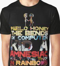Radiohead albums Graphic T-Shirt