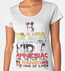 Radiohead albums Women's Premium T-Shirt
