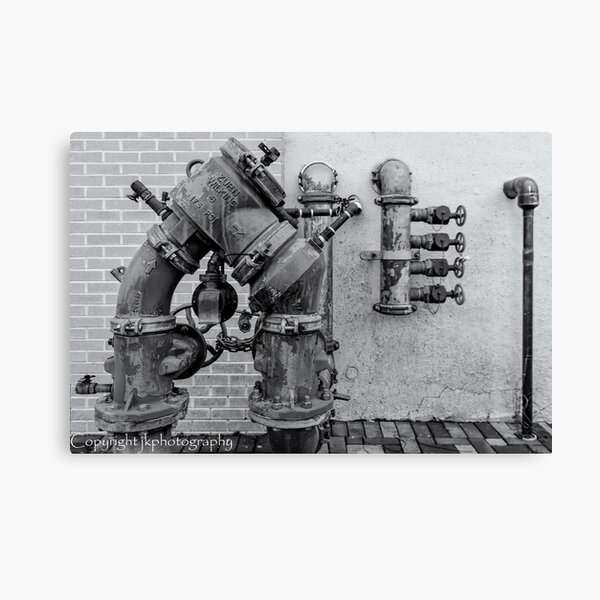 """""""Pipes, Valves and Joints""""  Canvas Print"""
