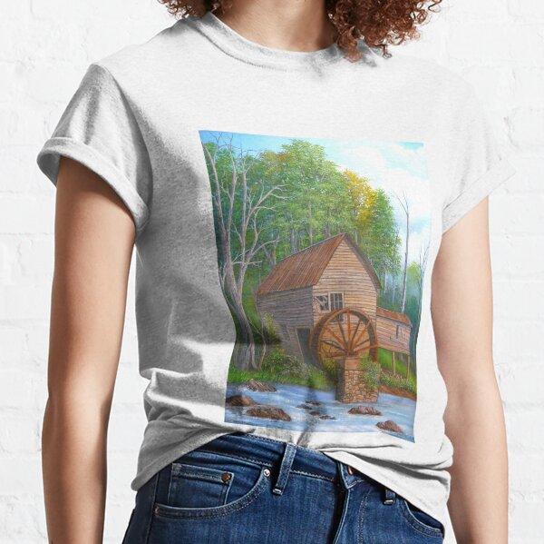 Loudermilk Gristmill in Habersham County Georgia Classic T-Shirt
