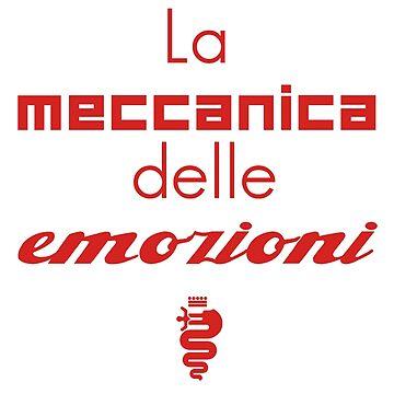 The meccanica delle emozioni (red) by JRLdesign