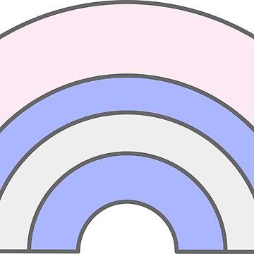 Pastel Rainbow by meetminnie