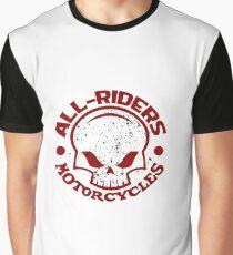 AR Graphic Skull Logo Graphic T-Shirt