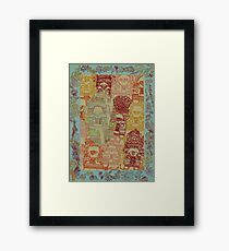 Truck Art - The Qalam Series Framed Print