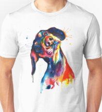 Colourful Dachshund Unisex T-Shirt