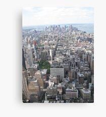 Lienzo Downtown New York