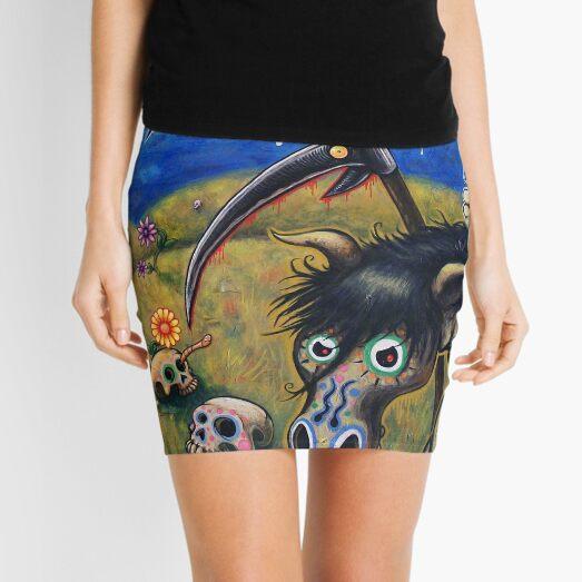 The Nameless One Mini Skirt