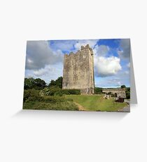 Dysert o Dea castle Greeting Card