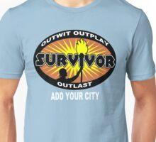 Survivor add your city Funny Geek Nerd Unisex T-Shirt