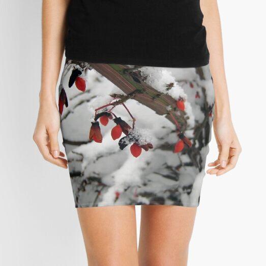 Snow on the Berries Mini Skirt