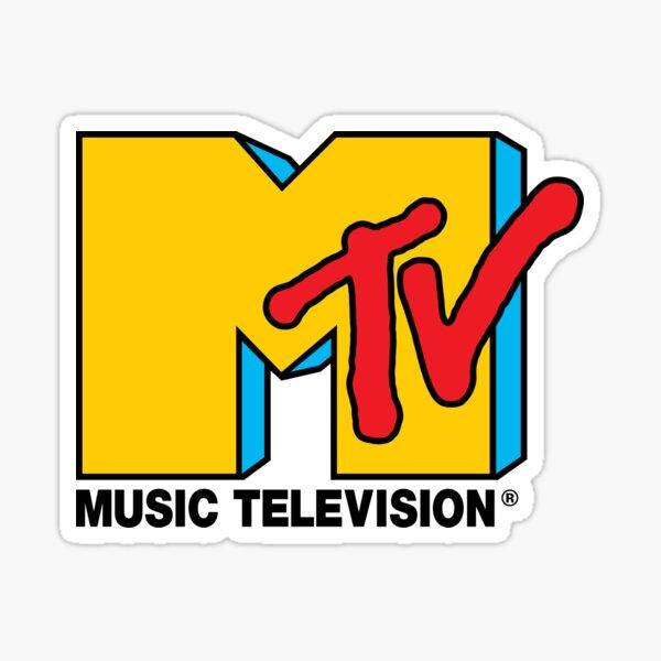 Logo de MTV Music Television Sticker