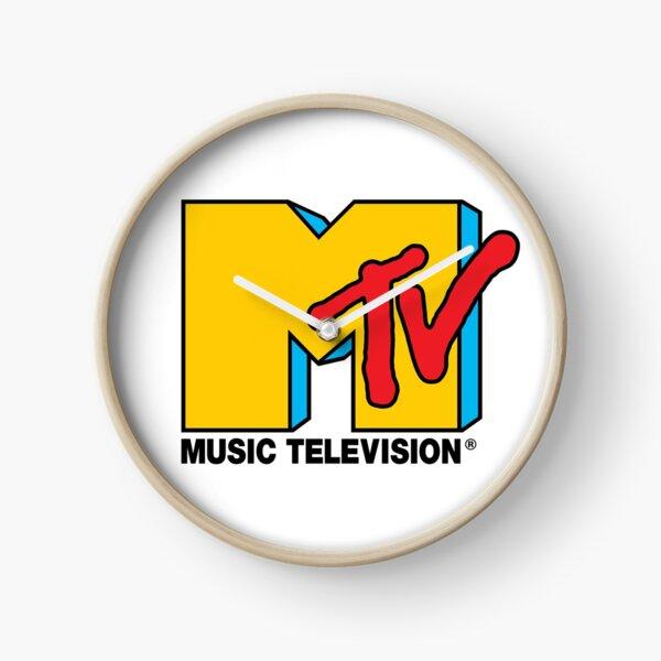 MTV Music Television Logo Clock
