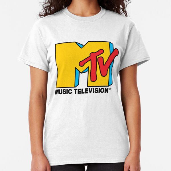 MTV Music Television Logo Classic T-Shirt