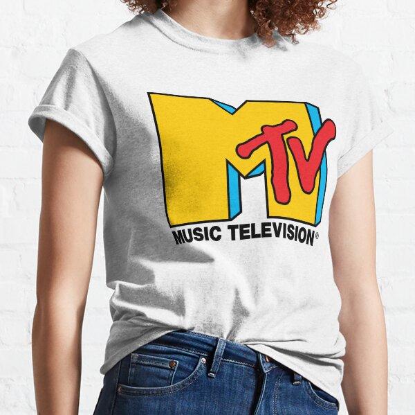 MTV Music Television Logotipo Camiseta clásica