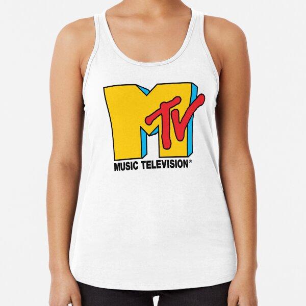 Logo de MTV Music Television Débardeur dos nageur